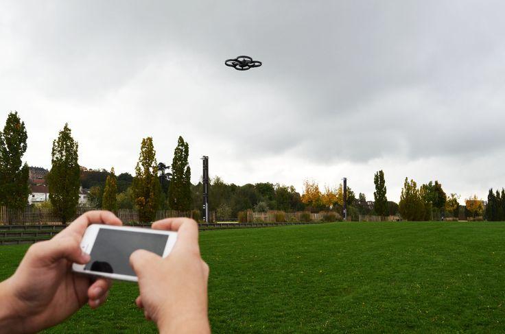 Master class Drone, Master Journalisme et Médias numériques. Photographie d'Aurélie Bazzara