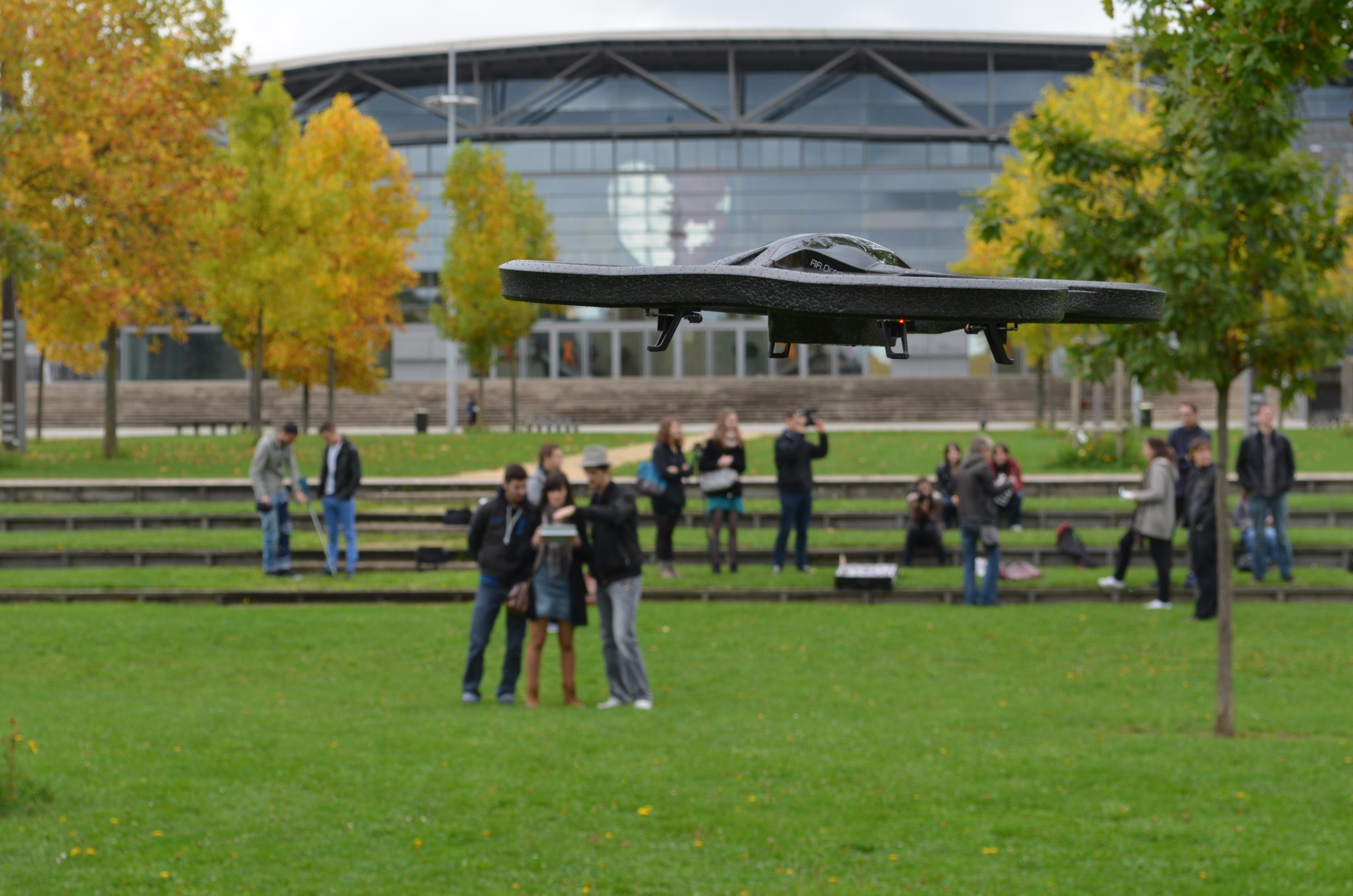 des drones pour prendre de la hauteur