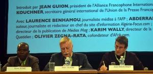 Table ronde Obsweb: Les médias francophones face à la révolution numérique
