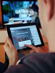 Tablettes-écran